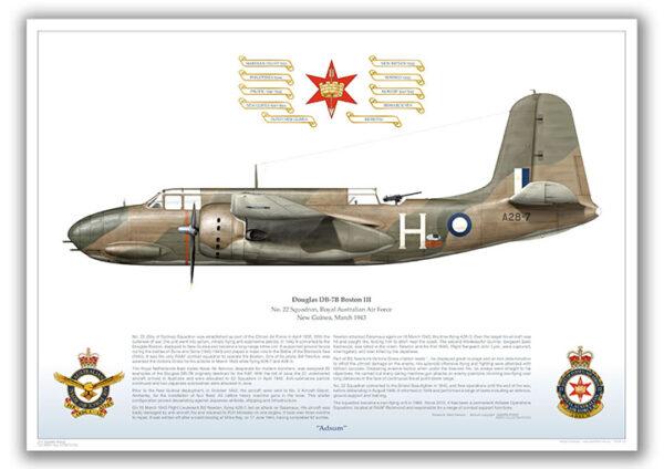 Douglas Boston 22SQN 1943
