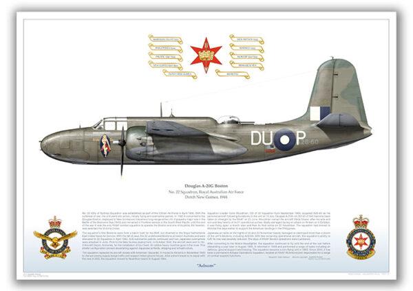 Douglas A-20 Boston 22SQN