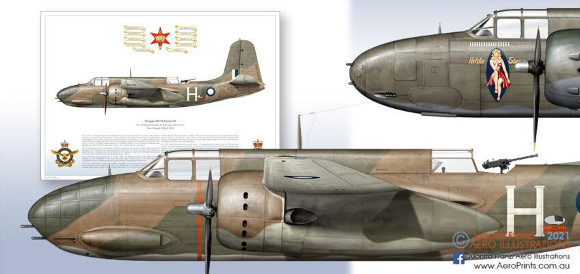 Aircraft print RAAF